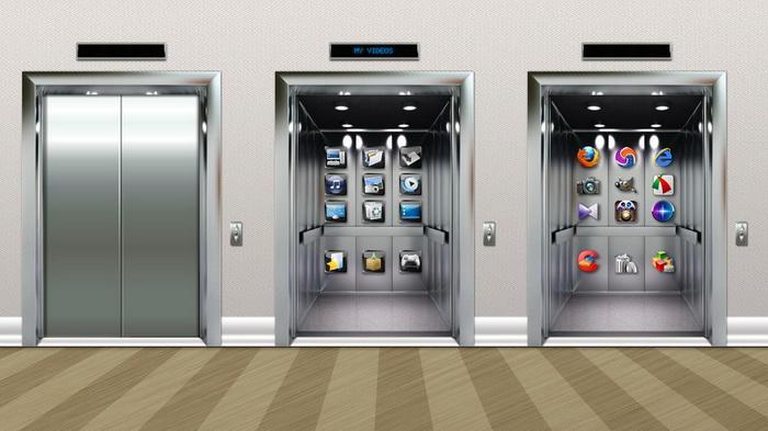 Modern Elevator Dock_X Widget Download Gallery  Widget