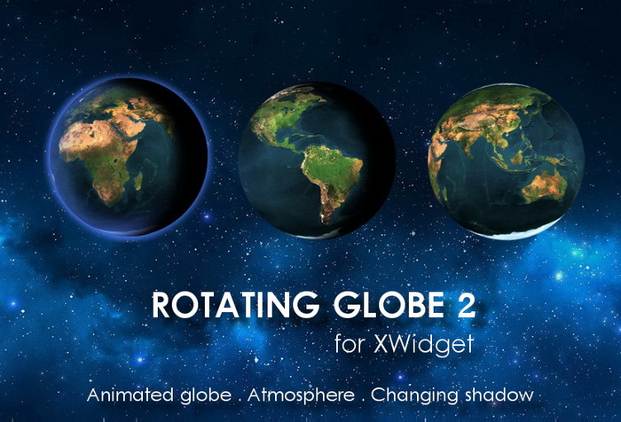 Rotating Globe 2 Animatedxwidget Download Website Live