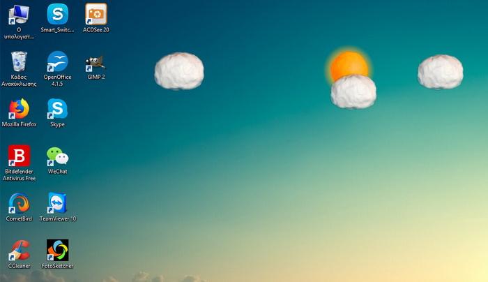 Floating Weather Animatedxwidget Download Website Live